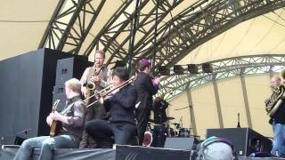 Bellowhead - Sloe Gin Set (live) - The Eden Sessions, Cornwall, 1 July 2012