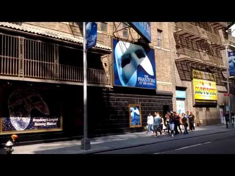 Majestic Theatre Currently Playing The Phantom Of The Opera On Broadway, New York City, New York