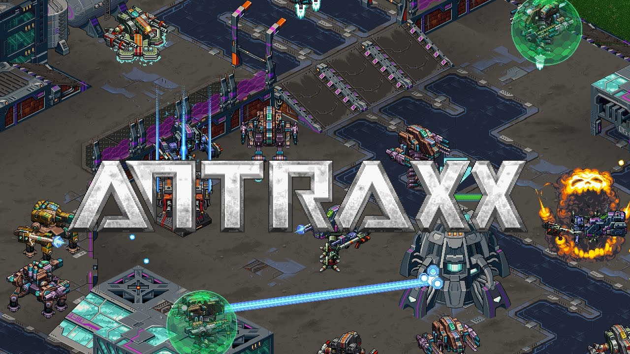 Antraxx' is a massively multiplayer mech battle game promising huge