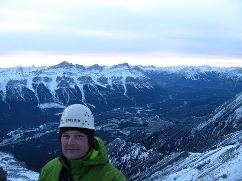Mount Charles Stewart South Peak solo easy scramble
