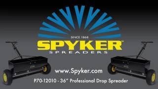 Spyker P70-12010 Commercial Drop Spreader