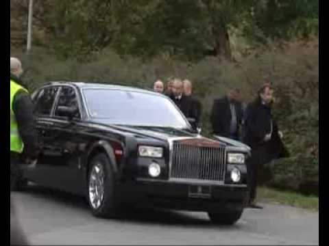 Czech maffia (mafia) boss son funeral 3