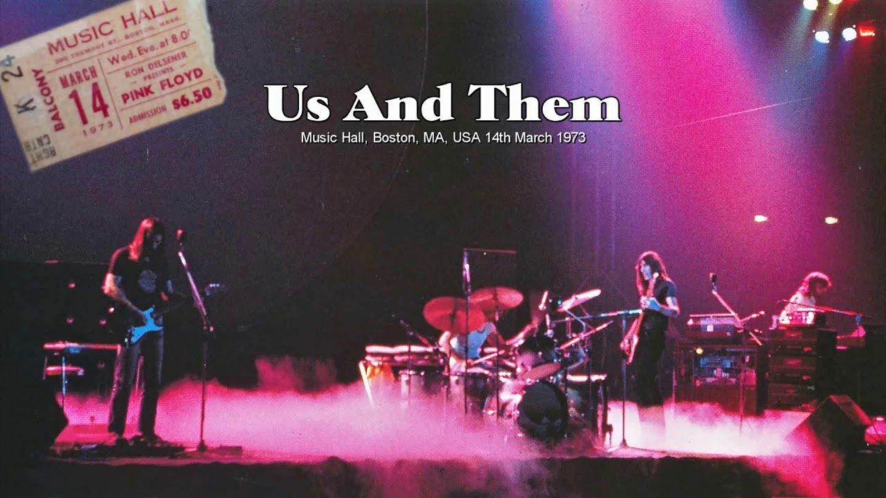 Pink Floyd - Us And Them (1973-03-14)