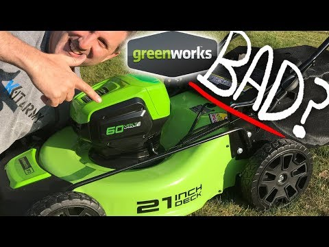 Greenworks 60v 21inch Cordless Lawn Mower   Best Review 2019 ✂️✂️✂️