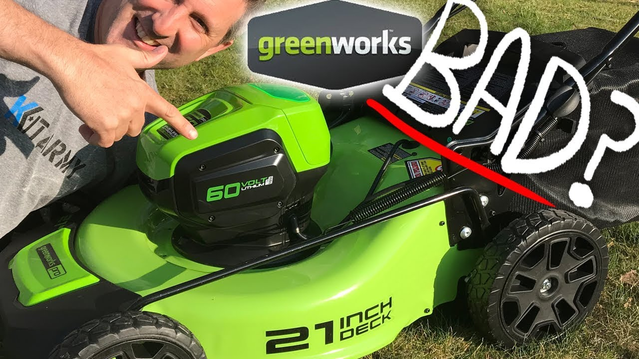 Greenworks 60v 21inch Cordless Lawn Mower Best Review