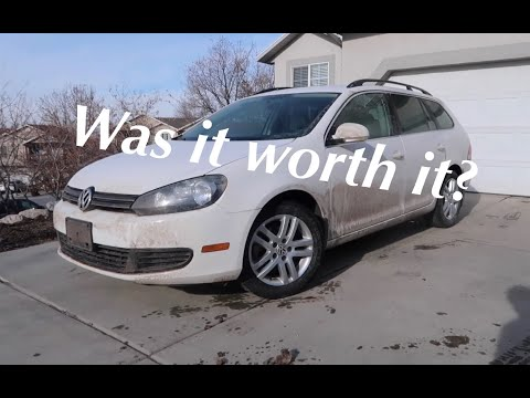 Buying a Volkswagen TDI from the Auction