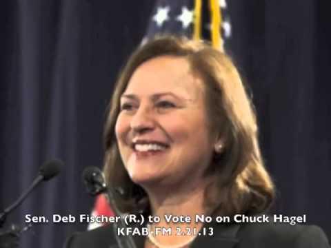 Sen. Deb Fischer (R.) to Vote No on Chuck Hagel