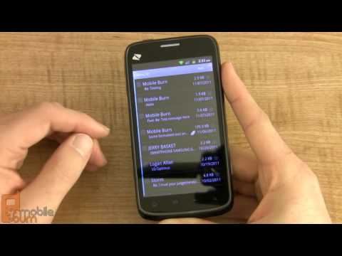 ZTE Warp (Boost Mobile) Video Review