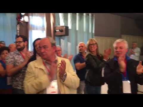 Orozco, ovacionado en el comité provincial del PSOE