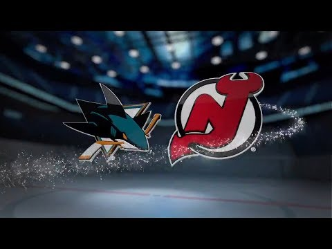 San Jose Sharks vs New Jersey Devils - October 20, 2017 | Game Highlights | NHL 2017/18 обзор