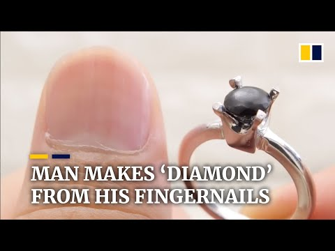 Angelina - Man Saves His Nail Clippings For a Year and Makes Diamond Engagement Ring!