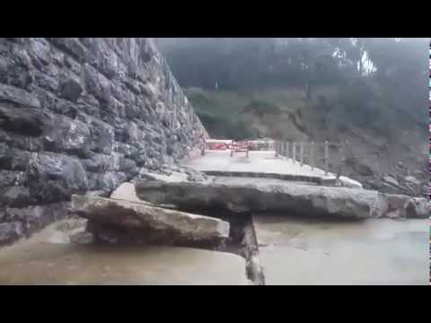 Meadfoot slipway collapse