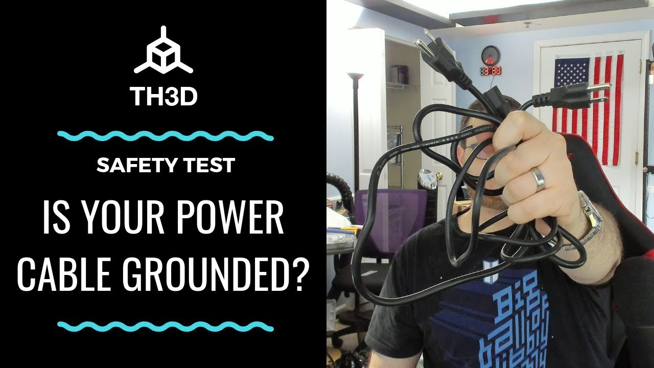 power cable safety - how to test for bad ground connections