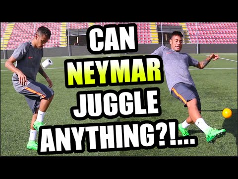 Can NEYMAR Juggle ANYTHING???...