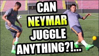vuclip Can NEYMAR Juggle ANYTHING???...