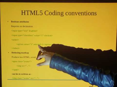 'HTML,CSS and JavaScript coding conventions'