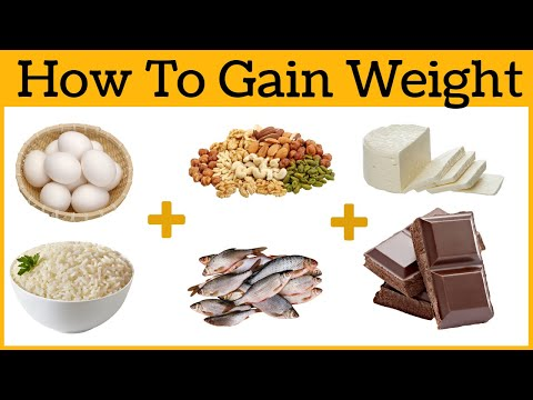 How To Gain Weight Fast And Easy At Home For Men And Women