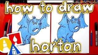 How To Draw Horton