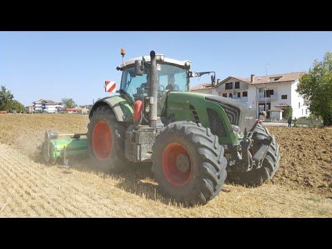 VANGATURA 2017 | FENDT 930 VARIO + ROTOARATRO FARMTEC AGRI 400