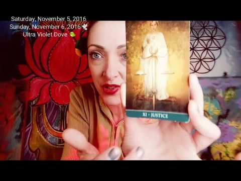 5 - 6 November 2016 WEEKEND 🐦DOING PUSH UPS & HANDSTANDS OF SPIRITUAL GROWTH 🚦Psychic tarot oracle