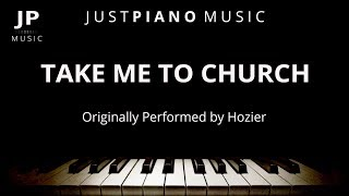 Take Me To Church by Hozier (Piano Accompaniment)