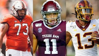 CHICAGO BEARS FULL 7 ROUND 2021 NFL MOCK DRAFT