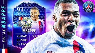 BEST ATTACKER IN FIFA 20?! 91 TOTGS MBAPPE REVIEW!! FIFA 20 Ultimate Team