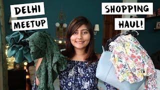 DELHI GK-1 SHOPPING HAUL | Delhi Street Shopping |Kritika Goel