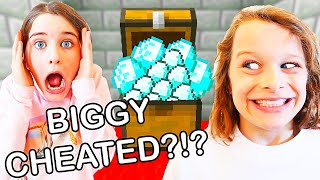 BIGGY CHEATED IN MINECRAFT CASTLE DASH Gaming w/ The Norris Nuts