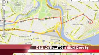 ALLSTON BRIGHTON Guide to Public Transportation * MBTA B,C,D Green Lines*57,501,503,64,65,66,70,86