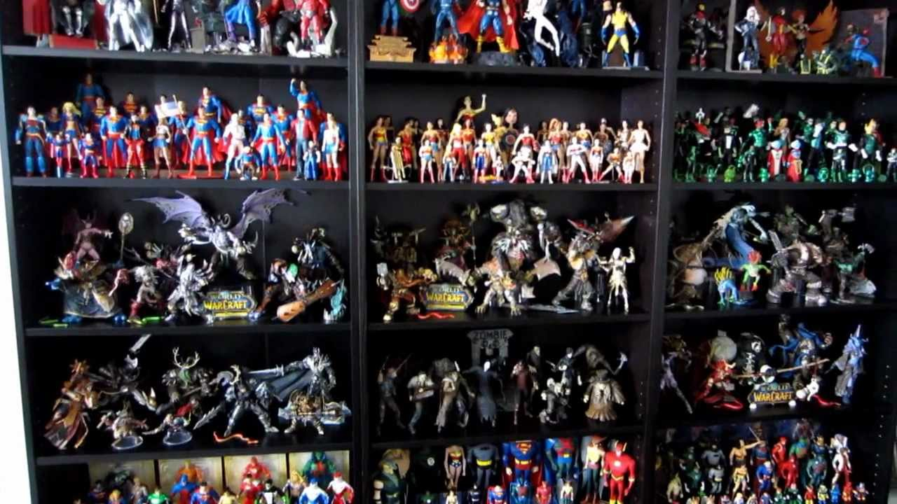 My Action Figure Collection (updated April 2012) HD - YouTube