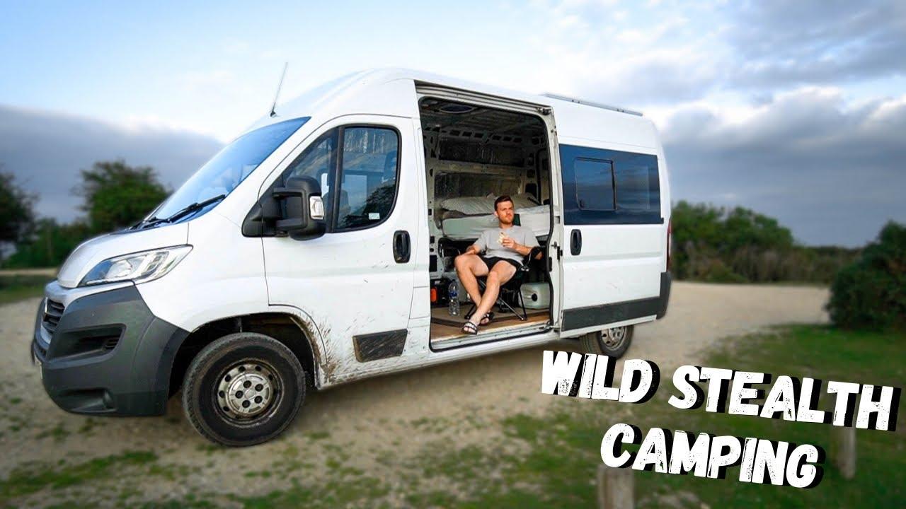 WILD Stealth Camping - UK Van Life!