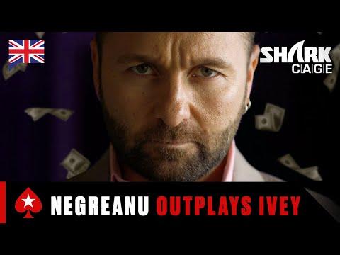 How DANIEL NEGRENAU Won 1 Million Dollars ♠️ Best Of Shark Cage ♠️ PokerStars UK