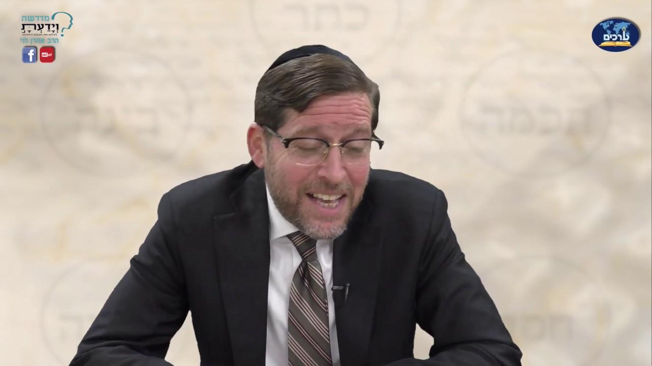 הקדמה לפנים מאירות ומסבירות - שיעור 14 - הרב אהרן לוי