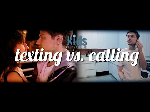 Texting Vs. Calling | DailyMotion Exclusive