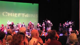 An Dro with The Chieftains and Celtic Cross Pipes and Drums.