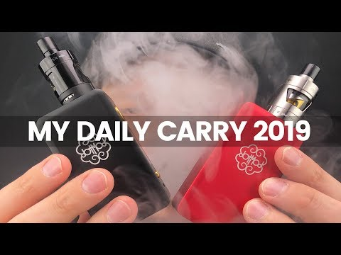 My Daily Carry 2019 | The Best Nic Salt Vape Set Up