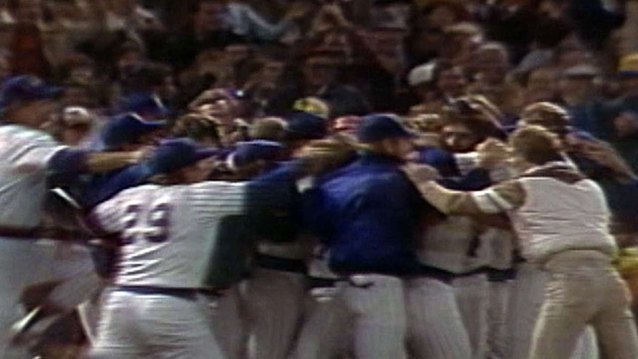 1982 alcs gm5 brewers advance to world series youtube