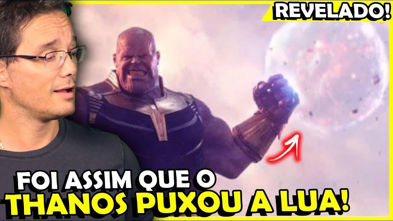 ***** Revelado! Diretores Explicam Como Thanos Puxou A Lua *****