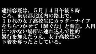 女子高校生を暴行し下着奪う、男逮捕 東京 2011.6.24 18:37 女子高校生...