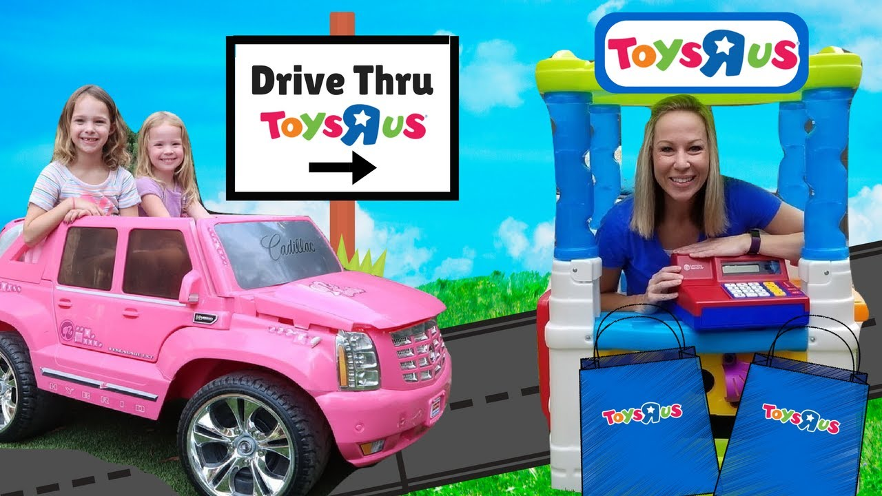 Drive Thru Toys R US Store PRANK Kid Video