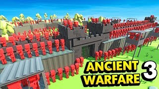 THE MOST HEAVILY ARMORED CASTLE IN ANCIENT WARFARE 3 (Ancient Warfare 3 Funny Gameplay)
