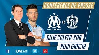 la conférence de presse de Duje Caleta-Car et Rudi Garcia #OMOGCN