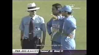 Sourav Ganguly saying, Tu time note karle to Mohd.Yousuf.FLV