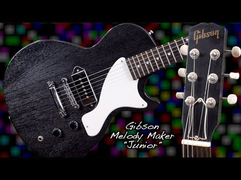 Why Do People Want These? 2003 Gibson P90 Melody Maker with Bridge + Tailpiece Black | Review + Demo