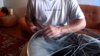 Подробная переспицовка колеса в 3