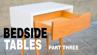 Make Modern Table Night Stand - How to Part 3 3