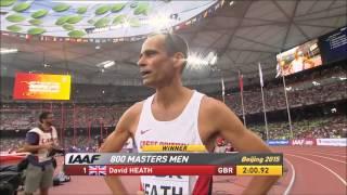 M50  800m Masters IAAF World Championships Beijing 2015