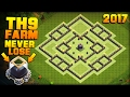 Clash of Clans | No.1 BEST TH9 FARMING BASE 2017 + PROOF!! | 98% SUCCESS RATE AT DE PROTECTION!