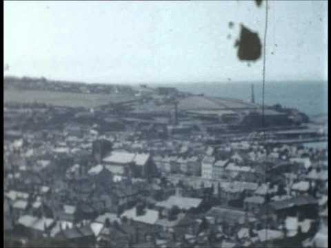Egremont, Whitehaven and nearby coast 1959